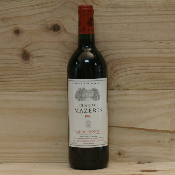 1993 Chateau Mazeris